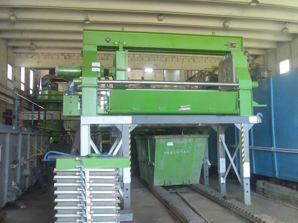 Assembly of filter press<br />SITA CZ Frydek-Mistek.